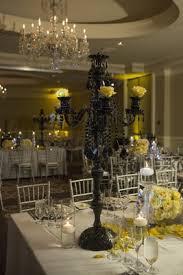 elegant ocean front ceremony and unique black u0026 yellow reception