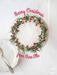 christmas wreath gingerbread cake gluten free vegan nut free