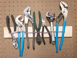 make an easy elastic tool storage system diy network blog made