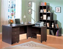 Coaster Corner Bookcase Decarie Home Office Sliding Door Bookcase In Rich Dark Finish By