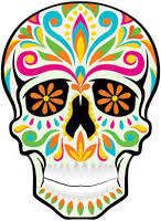los angeles needlework sugar skull cross stitch patterns day of