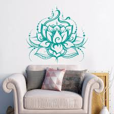 yoga lotus beautiful wall stickers waterproof home special vinyl cheap wall sticker buy quality wall decals directly from china living room suppliers yoga lotus beautiful wall stickers waterproof home special vinyl