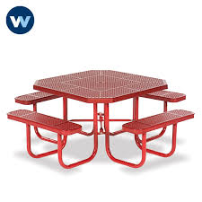 Commercial Outdoor Tables Octagon Commercial Outdoor Table Signature Series Portable