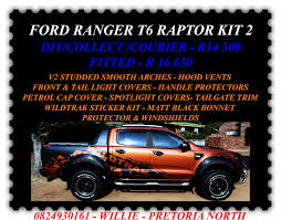 Ford Ranger Truck Accessories - ford t6 raptor kits mtba mighty thor bakkie accessories