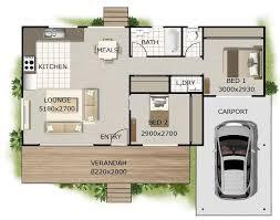2 Bedroom Design 2 Bedroom 2 Bath Cottage Plans Want This Plan Includes Concept E