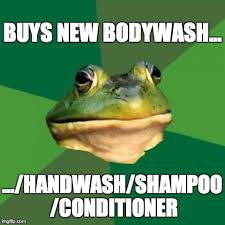 Bachelor Frog Meme - why do i always smell so citrusy they ask imgflip
