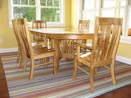 arts u0026 crafts pedestal extension table amish tables