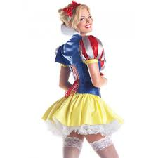 snow white inspired deluxe princess short costume