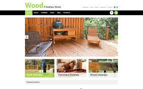 best wood finishes store woocommerce theme 50471