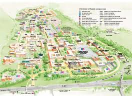 Portland State University Campus Map by Whitworth University Campus Map