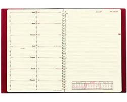 agenda de bureau agenda semainier de bureau spiralé note 29 s quo vadis impala noir