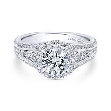 gabriel and co engagement rings entwined collection interwoven set engagement rings gabriel co