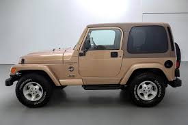 tan jeep wrangler 2 door 2000 jeep wrangler sahara 4 4 brutal motors