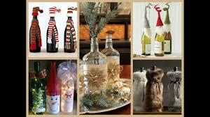50 christmas bottle decorating ideas youtube