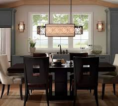 perfect design rectangular dining room light well suited dining