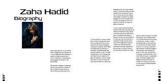 zaha hadid philosophy zaha hadid brochure on behance
