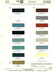 Best Color Codes by Pontiac Paint Charts Main Reference Page By Tachrev Com Best