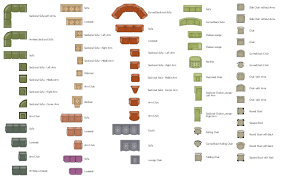 Kitchen Symbols For Floor Plans Pict Sofas And Chairs Symbols Design Elements Sofas And Chairs