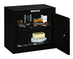 stack on ammo cabinet amazon com stack on gcg 500 pistol ammo security cabinet with 1