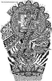 buddhist tattoos custom tattoos made to order by juno