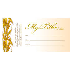 offering envelope my tithe box 100 ministry wishlist