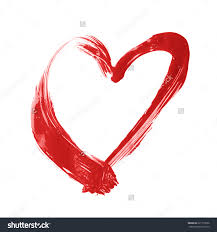 grunge vector spray painted heart 90535690 shutterstock color