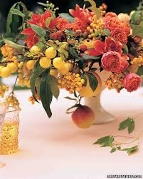fruit decorations and favors martha stewart weddings