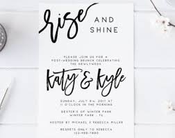 wedding brunch invitation rise and shine wedding brunch invitation instant