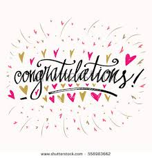 congratulation poster congratulations word stock images royalty free images vectors