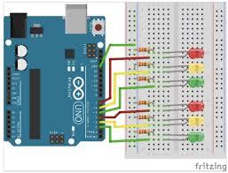 diy arduino led traffic light controller diy hacking