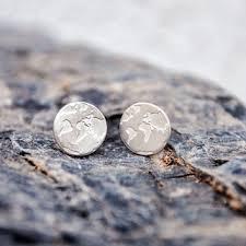 earrings world best wanderlust globe products on wanelo