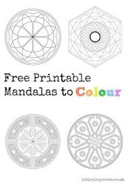 100 free printable mandala coloring pages adults flower