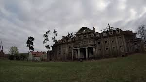 abandoned castle pałac durra poland april 2017 with gopro hero5