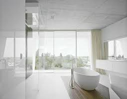 Modern Bathroom Pinterest Awesome Modern Bathroom Tile With Regard To Modern White Bathroom