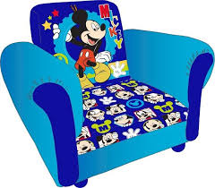 Childs Armchair Childrens Mickey Mouse Cartoon Kids Armchair Childs Upholstered