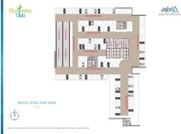 Multi Level Floor Plans Floor Plans U0026 Layout Aipl Business Club Gurgaon