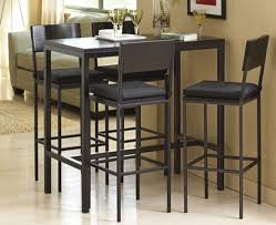 high top dining table for 4 tall dining table 4 chairs best gallery of tables furniture inside