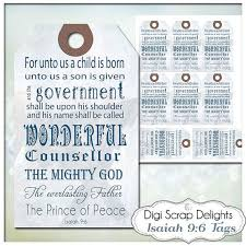 bible verse gifts printable christmas gift tags bible verse isaiah 9 6 jesus is