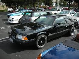 Black Fox Body Mustang 1979 1993 Fox Body Mustang Wheel And Tire Guilde Wickedstangs Com