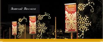 Commercial Christmas Decorations In Canada by Dekra Lite Commercial Christmas Lights And Displays Lit With C7 C9