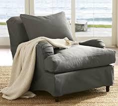 slipcovered chair carlisle slipcovered armchair pottery barn