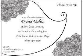 Mehndi Cards Elegant Henna Mehendi Party Invitation Card Sangeet Card