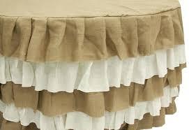 5ft round table in inches burlap tablecloth round bazaraurorita com