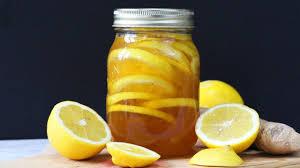 honey lemon ginger jar natural cold u0026 flu remedy youtube