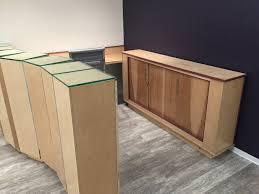 Reception Desk Wood by Scottbenjamintucker Reception Desk