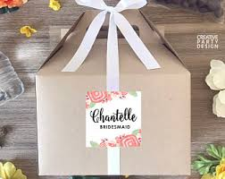 will you be my of honor gift will you be my bridesmaid gift box will you be my of
