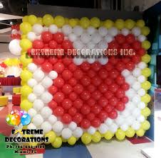 mickey mouse balloon wall balloon decorations miami mickey
