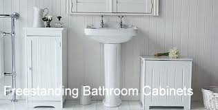 Freestanding Bathroom Furniture Cabinets White Bathroom Furniture Freestanding Freestanding Bathroom Of