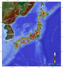 World Elevation Map by Map Of Japan Topographic Map Worldofmaps Net Online Maps And