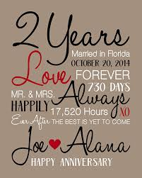 2 year anniversary gift best second year wedding anniversary gift images styles ideas